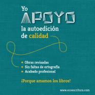 Yo apoyo la autoedición de calidad: Lucía Herguedas
